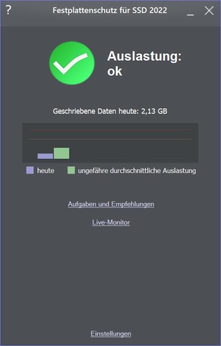 Festplattenschutz für SSD 2019